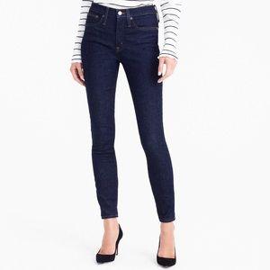 J. Crew Dark Wash Classic Toothpick Skinny Jeans